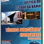 Concursos Públicos - Apostila Concurso TJBA 2014 - Técnico Judiciário - Escrevente: Área Judiciária
