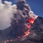 Internacional - Voltado para a realidade assustadora do Japão! Erupção vulcânica gigantesca