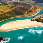 Curiosidades - Praia de Odeceixe - Aljezur, Algarve (Portugal).