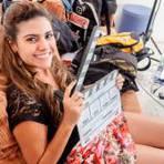 Cantora Fabiola Carvalho participa de curta