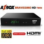 Nova atualização Azbox Bravissimo Twin HD 27/10/2014 Outubro