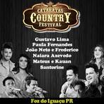 Lançamento do CD Cataratas Country Festival 2014