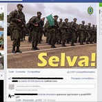 Eleições 2014: Página do Exército no Facebook recebe centenas de pedidos de golpe