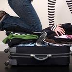 Dicas para fazer as malas e ganhar espaço na bagagem