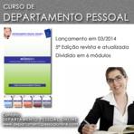 CURSO DE DEPARTAMENTO PESSOAL 2014 - 6 MÓDULOS