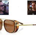 Óculos do Tony Stark em Homem de ferro 3.