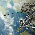 Tecnologia & Ciência - Empresas planejam construir elevador espacial até 2050
