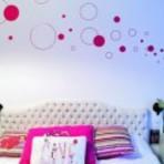 Adesivos de parede para quarto feminino
