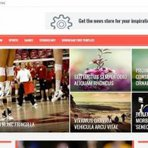 Blogosfera - lindo template - Sora Red é um modelo de blogger com um design funcional incrível