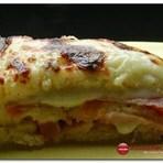 Culinária - Receita Lasanha de Pão com Fiambre