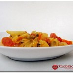 Culinária - Receita Caril de Legumes e Cogumelos
