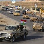 Internacional - Forças curdas chegaram na Turquia rota para Síria para lutar contra ISIS