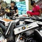 Cidade chinesa de Guiyu recicla lixo eletrônico do mundo todo