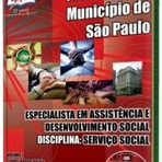 Concursos Públicos - Apostila Prefeitura de São Paulo - Esp. em Assistência e Desenvolvimento Social I