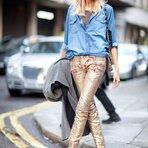 Brilho continua em alta no mundo da moda. Algumas tendências vem para ficar!