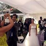 Conheça os noivos que seus anéis de casamento foram entregue por um DRONE
