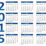 Diversos - Calendário 2015, Várias Opções!