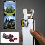 Oferta: Kit lens clip 3 em 1