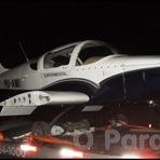 Diversos - Avião monomotor é transportado em caminhão na BR-226, quando passou por Santa Cruz