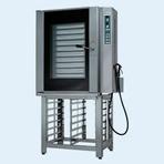 Forno combinado elétrico a gás em inox - Solution Inox