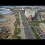 Turismo - Leça da Palmeira: Vista aérea ...