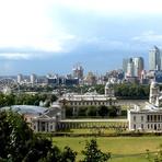 Parque de Greenwich e o Meridiano