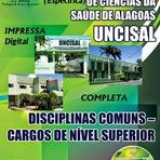diHITT & Você - Apostila UNCISAL COMPLETA Nível Superior Concurso Maceió/AL - 2014