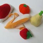Hobbies - Frutas e Legumes Feitos de Tecido!