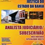 Concursos Públicos - Aulas e Apostilas Concurso TJ BA 2014 - Tribunal de Justiça da Bahia