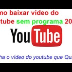 vídeo do youtube sem programa 2014