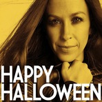 Fotos - Alanis Morissette deseja Feliz Halloween