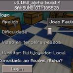 Downloads Legais - Minecraft Pocket Edition v0.10.0 Build 4 (Em Português) PT-BR