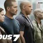 Cinema - Velozes & Furiosos 7 (Furious 7, 2015). Trailer legendado. Sinopse, cartaz, elenco... Ação. Policial. Corrida. Carros...