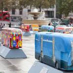 Exposição ônibus de Londres