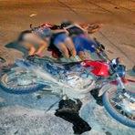 Três morrem esmagados por carreta em Rondônia