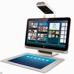 HP reinventa o PC,$ 1,900 mouse para um projetor e touchpad gigante(video)