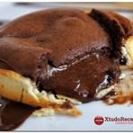 Receita Torta de chocolate cremoso