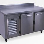 Fabricante de freezer horizontal inox com porta cega - Solution Inox