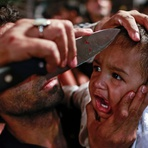 Internacional - Filho de muçulmano xiita é marcado com faca na Índia