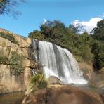 Cachoeira do Machado I em Bueno Brandão