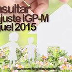 Utilidade Pública - CONSULTAR REAJUSTE IGMP ALUGUEL 2015