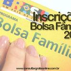 Utilidade Pública - INSCRIÇÃO BOLSA FAMÍLIA 2015