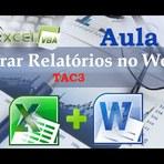 Gerar relatórios com formulário do Excel