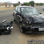 Violência - Grave acidente ocorrido na BR-226 em Tangará