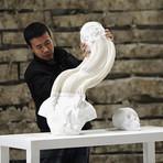 Incríveis obras de Li Hongbo feitas inteiramente de papel e cola