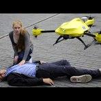 Ambulância drone poderia salvar sua vida um dia