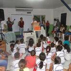 """Centro de Apoio á Criança ganhou Baú da Leitura do Projeto """"Baú da Leitura da Coelce"""""""