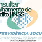 DETALHAMENTO DE CRÉDITO INSS: PREVIDÊNCIA SOCIAL