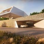 Casas modernas e minimalistas que parecem esculturas