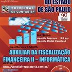 Apostila TCE SÃO PAULO - Tribunal de Contas SP - Grátis CD